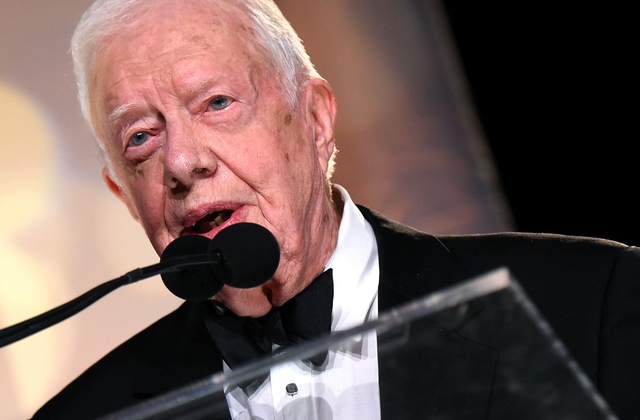 Carter speaks on Trump's impending Inauguration Day