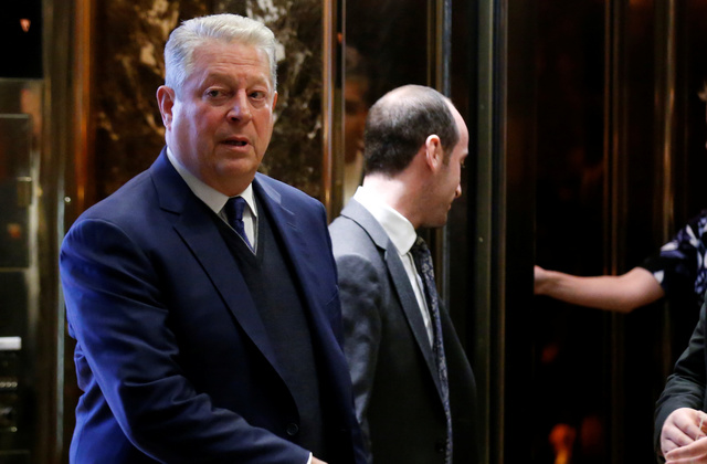 Ivanka Trump holds meeting with Gore at Trump Tower
