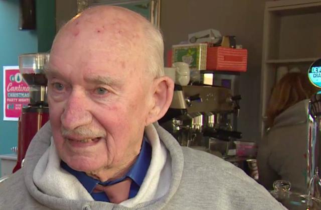 Vet, 89, starts new job to avoid 'dying of boredom'